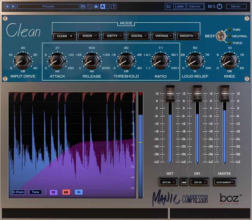 Boz Digital Labs Manic Compressor