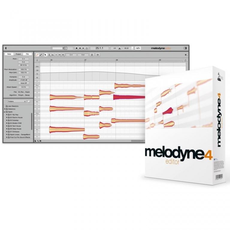 Melodyne 4 Editor
