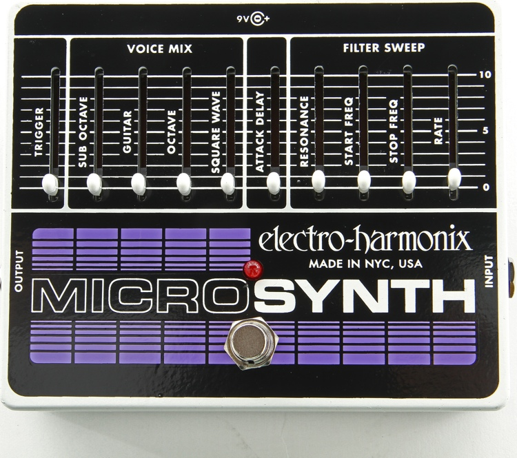 Micro Synthesizer Pedal