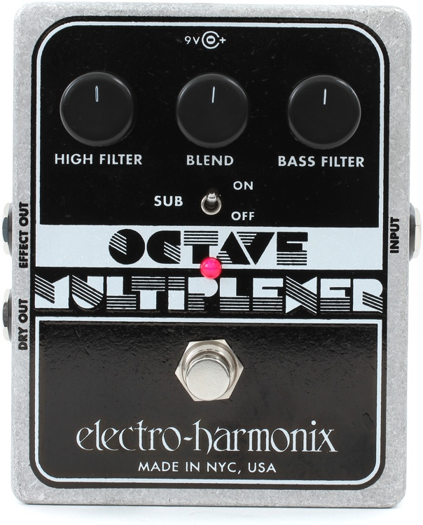 Octave Multiplexer Pedal