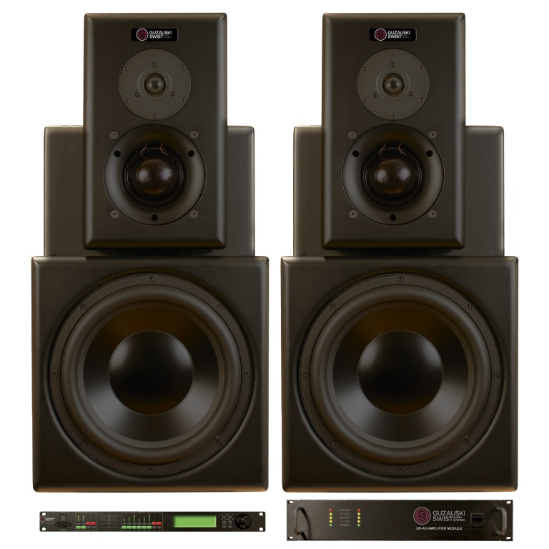 GS-3a Stereo & Surround Monitors