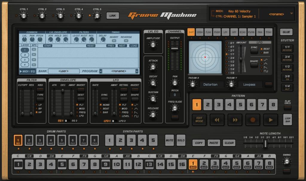 Groove Machine