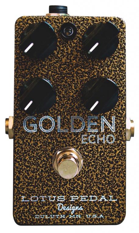 Lotus Pedals Golden Echo Pedal