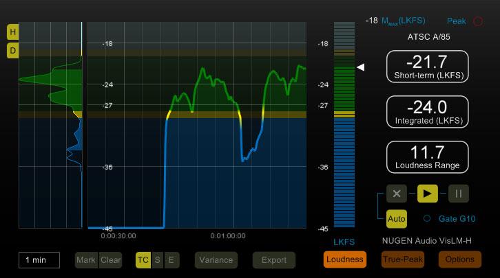 VisLM-H 2 Loudness Meter