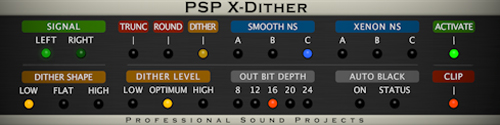 PSP X-Dither