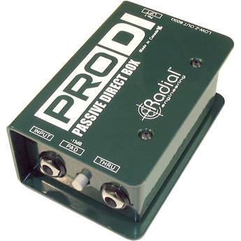 PRO DI passive direct box