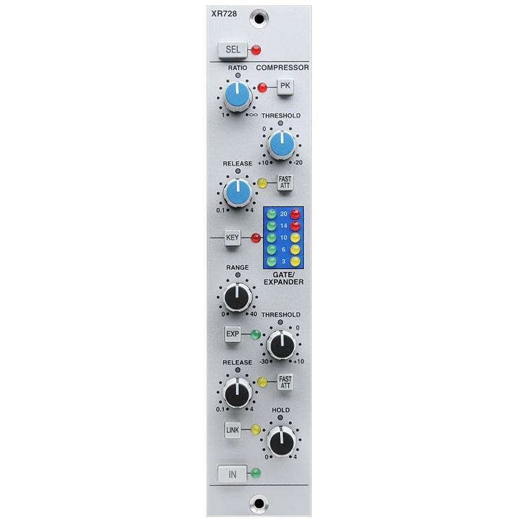 XR728 Stereo Dynamics Module for X-Rack