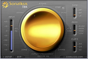 sonalksis creative filter stereo