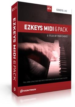 EZkeys MIDI 6 Pack