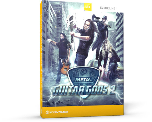 Metal Guitar Gods 2 EZmix Pack