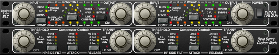 FATSO Jr./Sr. Tape Sim. & Compressor Plug-In