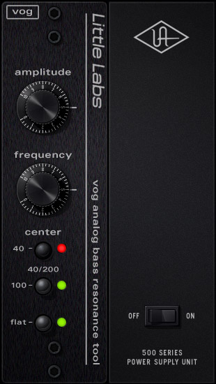 UAD Little Labs® Voice Of God Bass