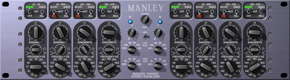 Manley Massive Passive EQ Plug-In