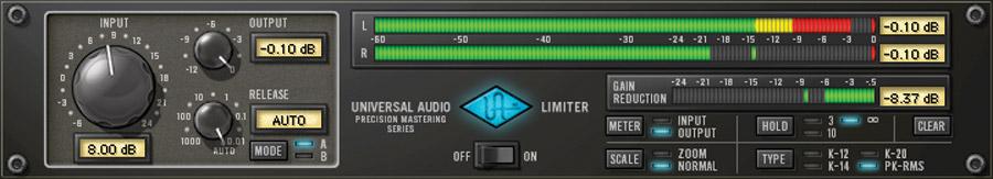 Precision Limiter Plug-In