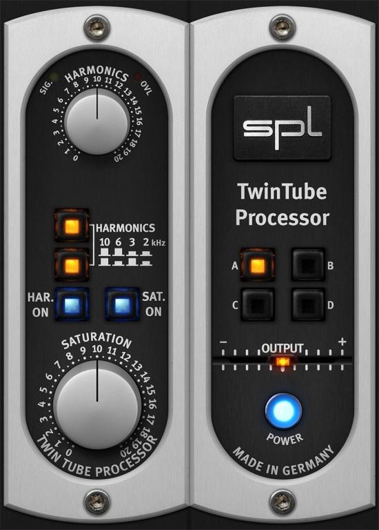 SPL TwinTube Processor Plug-In