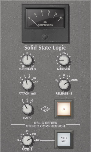 SSL G Series Bus Compressor Plug-In