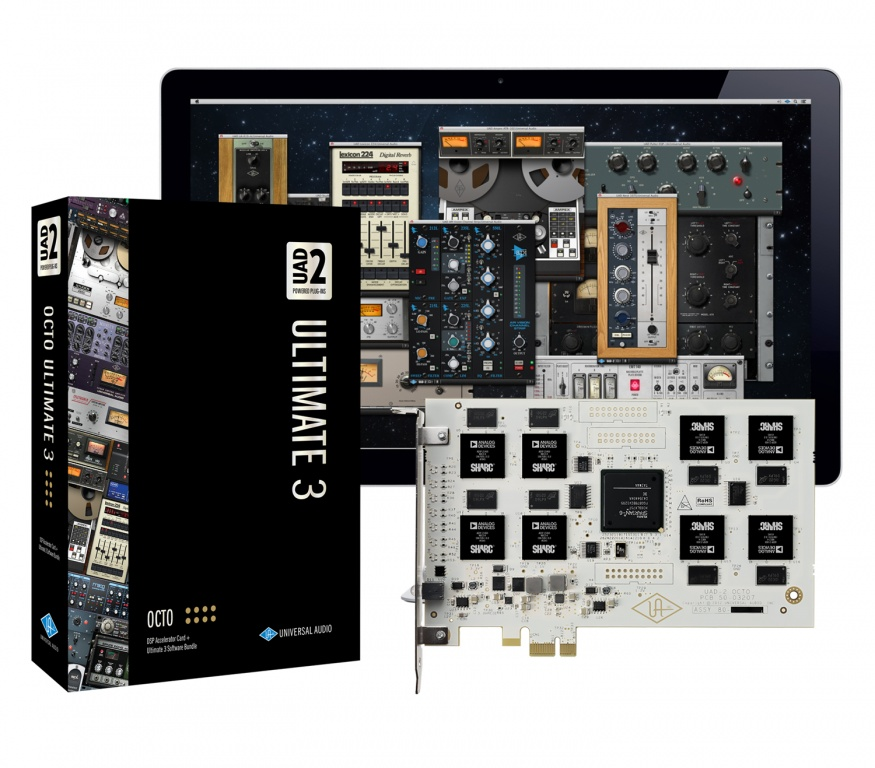 Universal Audio UAD-2 OCTO Ultimate 3 Card