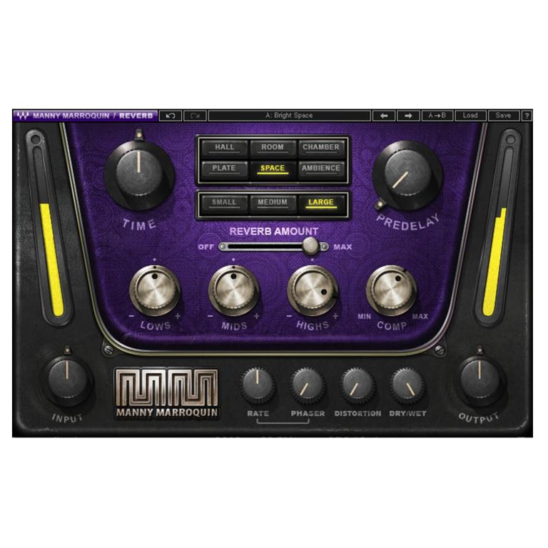 Waves Audio Manny Marroquin Reverb