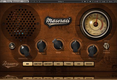 Maserati DRM Drum Slammer
