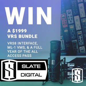 Win a Slate VRS Bundle with Gearslutz.com