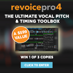 Win one of three copies of Synchro Arts Revoice Pro 4 with Gearslutz.com